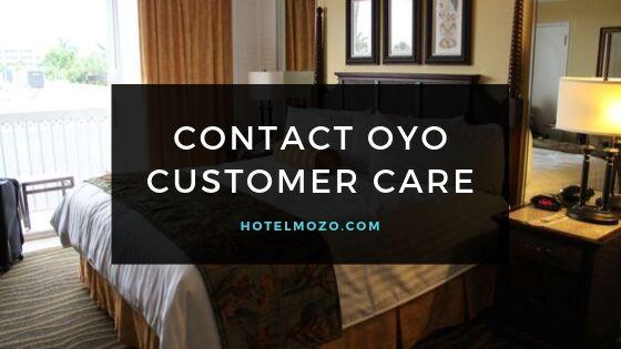Contact OYO Customer Care