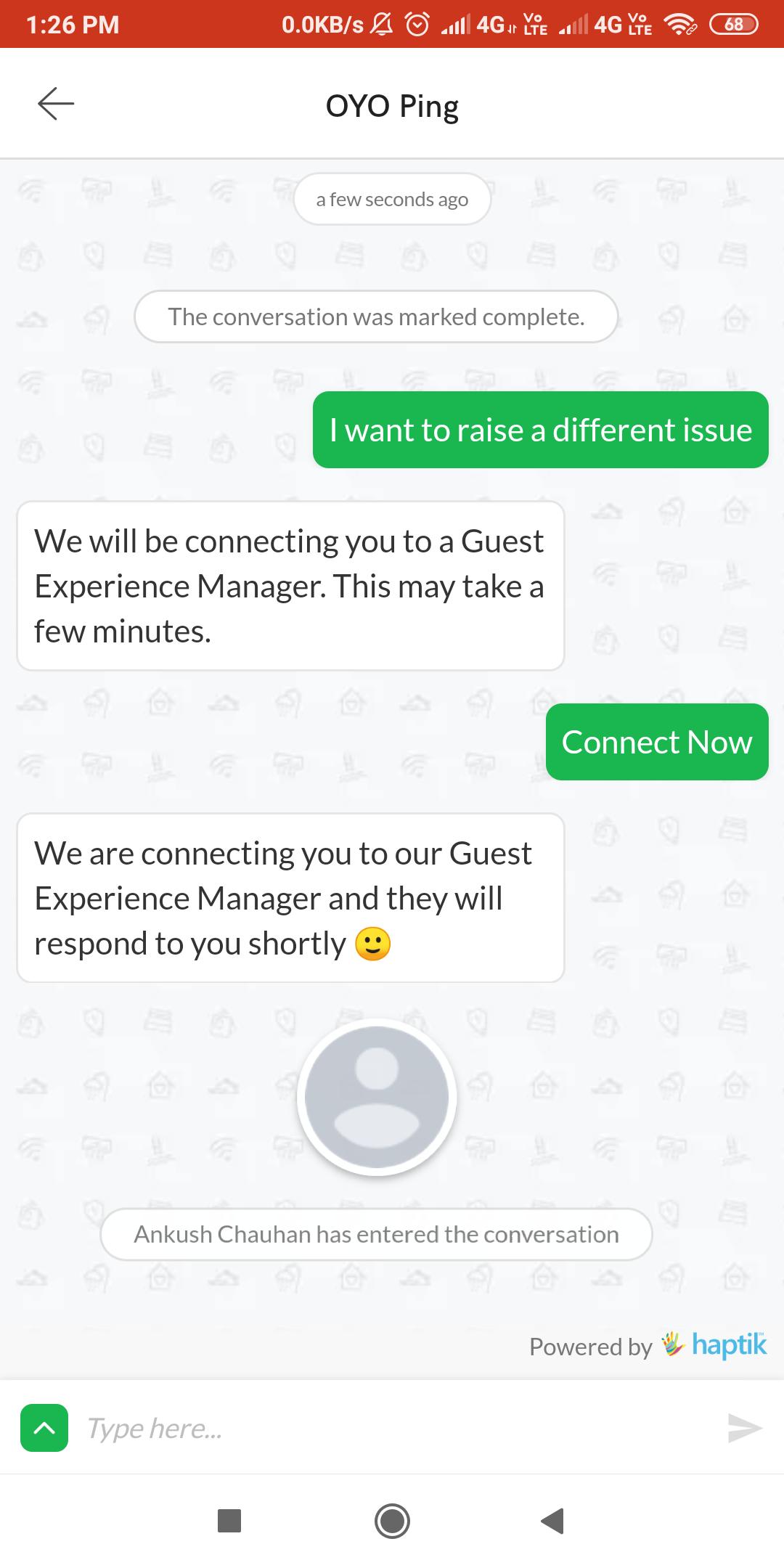 OYO chat 4